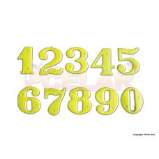 Číselníky na úle plastové