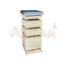 Dadant úľ 10 ramikový špecial 1 s rámikmi