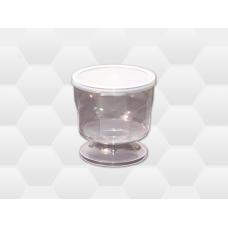Pohár s vekom PVC na  100g medu