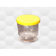 Pohár s vekom PVC na  25g medu