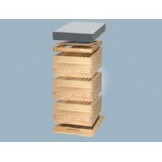 Langstroth úľ s pelochytom a 30 rámikmi